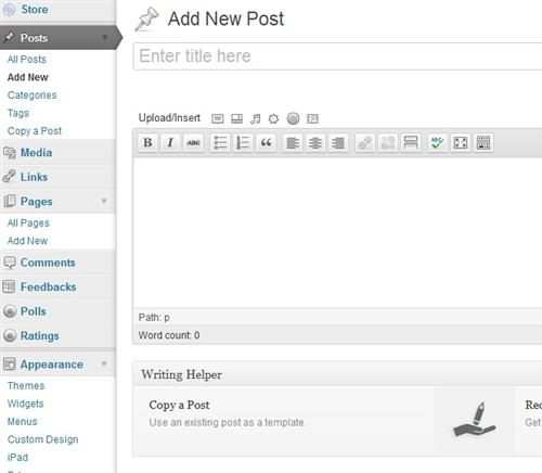 Wordpress Add Post