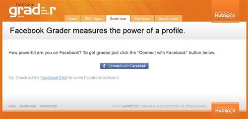 Facebook User Grader