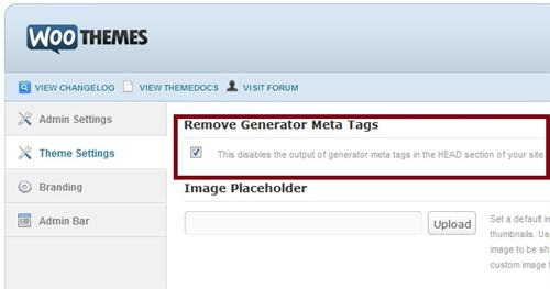 Woo Theme Remove Generator