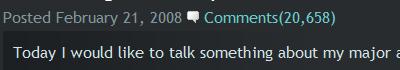20658 Comments