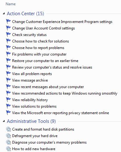 Windows 7 Godmode1