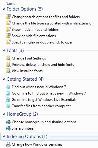 Windows 7 Godmode2