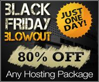 Hostforweb Black Friday