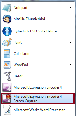 Microsoft Expression Encoder 4 Screen Capture Free