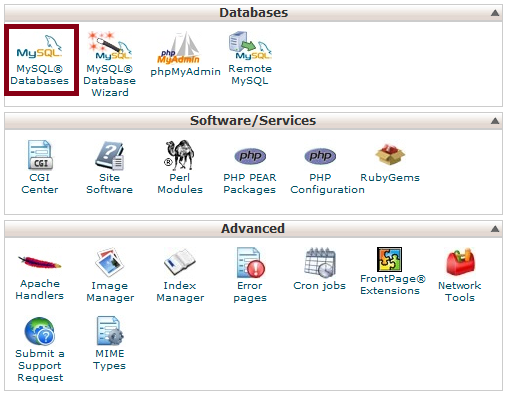 Select MySQL Databases