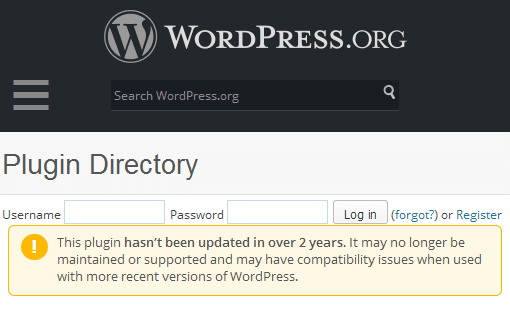 wordpress-2-year-warning