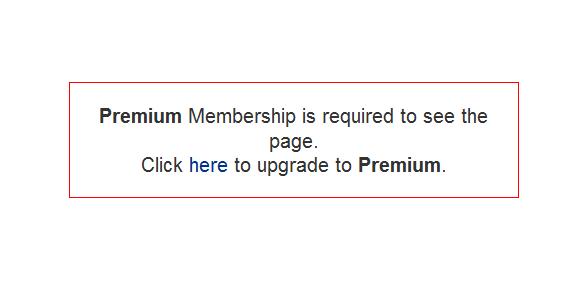 Boonex Premium Membership