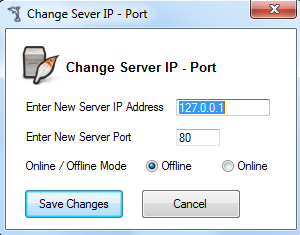 Change IP - Port