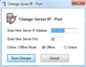 Change IP - Port