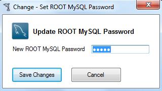 Change MySQL Root Password