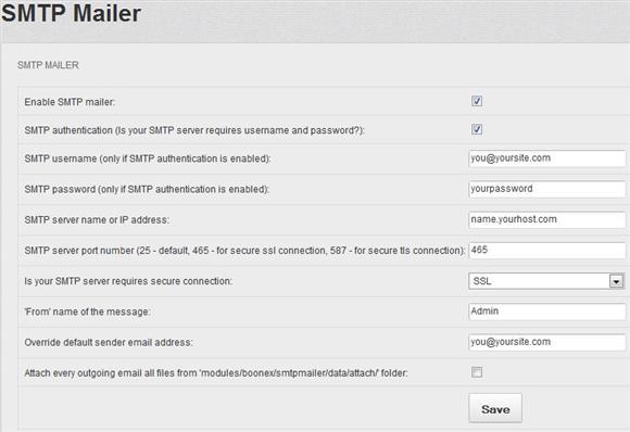 cPanel SSL SMTP