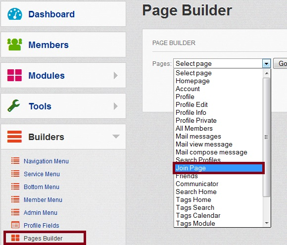 Dolphin Builders Join Page