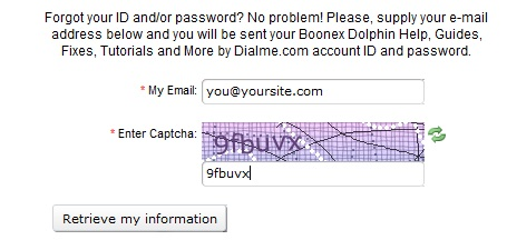 Retrieve Password