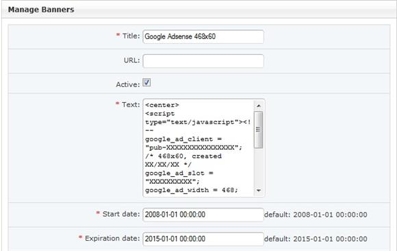 Dolphin 7 Google Adsense Code