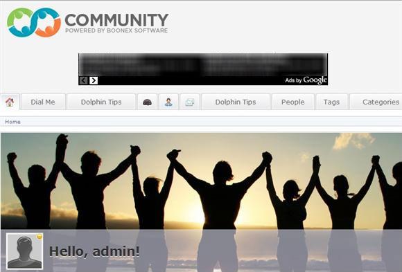 Dolphin 7 Google Adsense Home Page