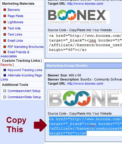 Boonex Affiliate
