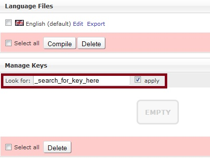 Search for Dolphin 7 Language Key