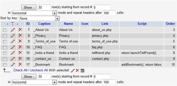 sys_menu_bottom Table