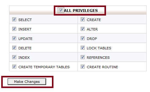 All Privileges
