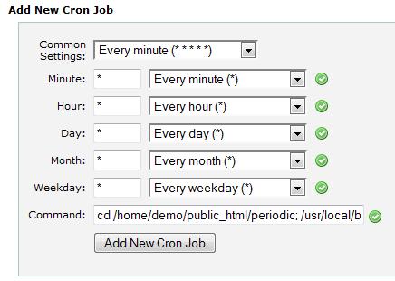 Add Dolphin 7 Cron Job