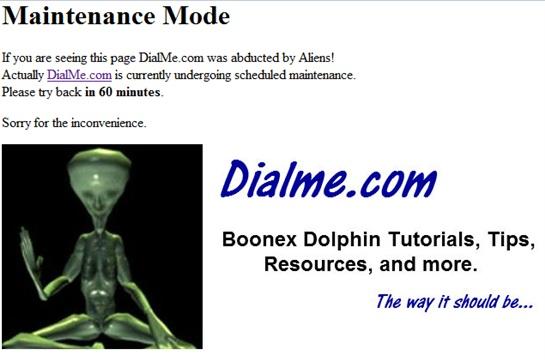Edited Mainenance Mode