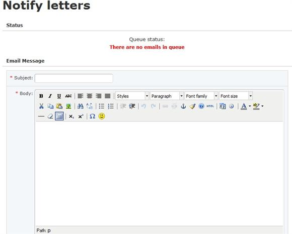 Dolphin 7 Mass Mailer Advanced Editor