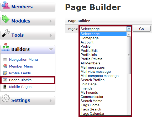 Page Builder Original