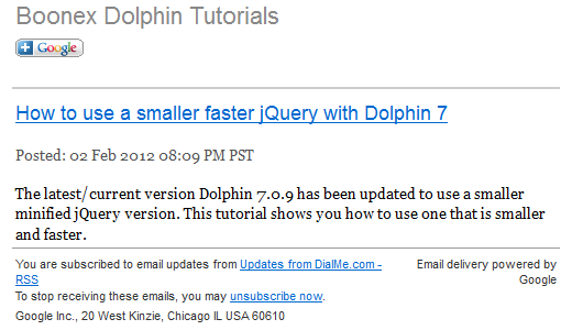 Dolphin 7 Tutorial Deliverd by Feedburner
