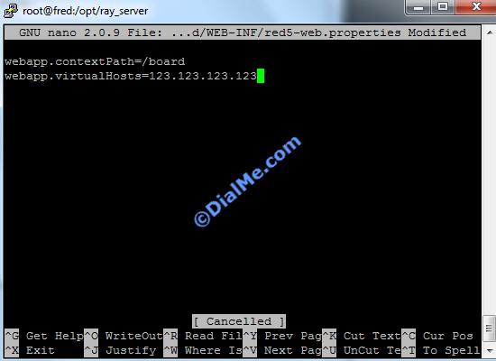 Add Server IP Boards