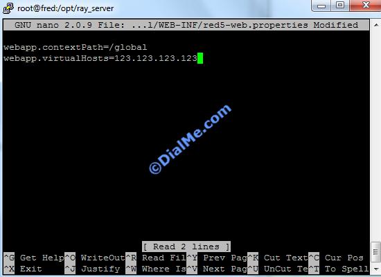 Add Server IP Global