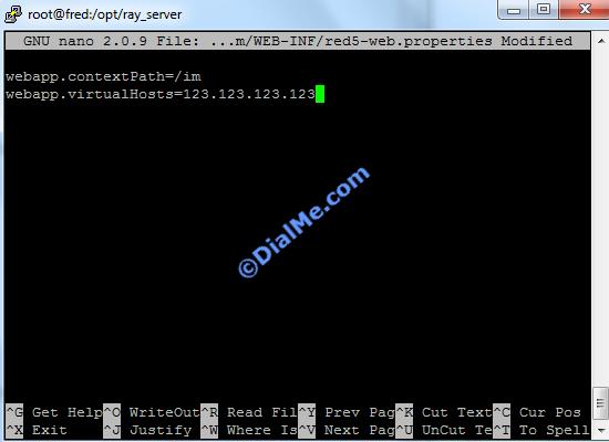 Add Server IP IM